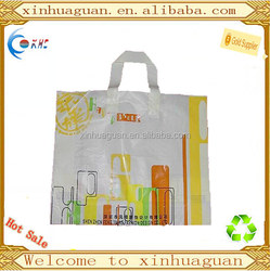 HDPE Soft loop handle bag for shopping