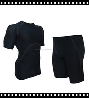 Hot sell tight fitness sport suit for men with top quality