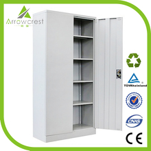 Durable high quality steel furniture 4 shelves storage cabinet for tall people