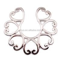Stinless steel non piercing nipple ring nipple shield Body Jewelry