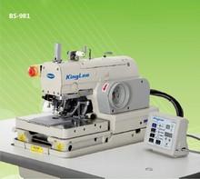 BS-981 botón agujero máquina de coser industrial ojal precio de la máquina de ojal máquina de coser industrial