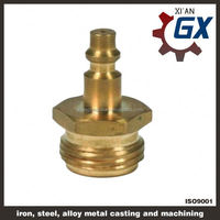 Cast NPT full port private label on handle brass long stem ball valve