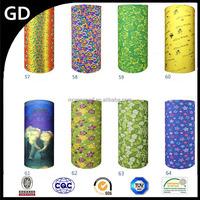 GDY0016 Seamless fashion microfiber acrylic cycling head hip scarf belly dance