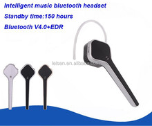 Newest design high end v4.0 EDR mini wireless bluetooth headset for Samsung/Apple iPhone/Nokia/Motorola....etc.