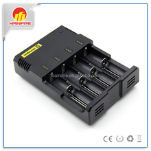 Nitecore I4 Intellicharge charger Most of Li-Ion Ni-Cd Ni-MH 4-Channel Smart Battery Charger sysmax i4 charger