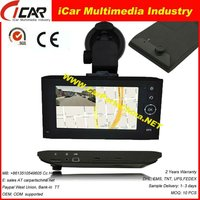 "recording while navigation 4.3"" Touch Screen X6 windows ce gps navigation software"