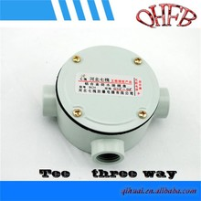 electrical aluminum die cast weatherproof junction box
