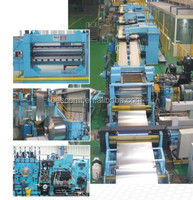 rotary cutting machine shearing to length line