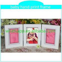 new inkless print pad with frame for baby gift advertising handprinted soup mug