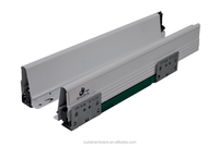 Furniture hardware metal sliding drawer channel