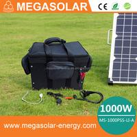 solar power generator kit/mobile solar power generator/1000w solar power enerator for industrial
