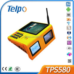 Telpo TPS580 gprs printer barcode pos terminal