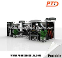 advertising portable pop up trade show booth construction