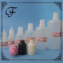 e-cig liquid bottle 15ml pe needle tip bottle