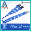 funny sublimation neck lanyard for children's key