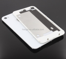 New For iPhone 4 4G Compatible Back Glass Rear Door Battery Cover Replacement white Black