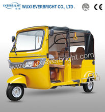 BORAC TVS KING gasoline motor trike for passenger made in china