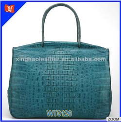 2015 Elegant style business occasion alligator pattern tote bag fashion bags ladies handbags