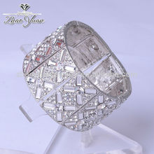 estilo de la moda hecha a mano baratos al por mayor de cristal joyería de marruecos