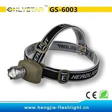 GS-6003 Aluminum 3 Watt LED Head Lamp