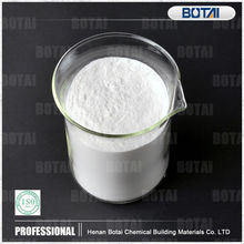 Water reducer and calcium formate for tile adhesive