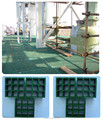 Antiderrapante frp fibra de vidro piso grade placa