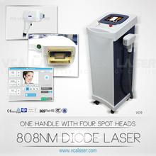Aesthetic equipment for hair removing