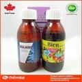 la etiqueta privada oral expectorante para la tos seca jarabe