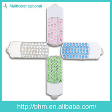 Wholesale promotional gift crystal usb flash drive/usb pen drive crystal