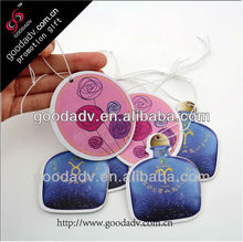 Factory manufacture most welcomed low price paper car air fresheners