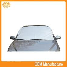 oxford pp fabric paper car sunshade,snow shade at factory price