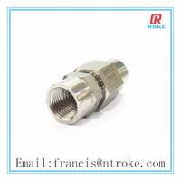 stainless steel high pressure check valve nature gas valve female thread
