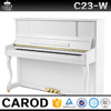 china direct supplier 88 keys white baby upright piano