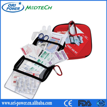 CE ISO FDA approved China Ori-Power wholesale waterproof outdoor eva first aid kit bag