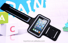 Sports Running Gym Armband Case for Apple iphone 5 5S 5C (Black)