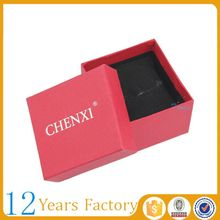 Red morden swiss watch box package