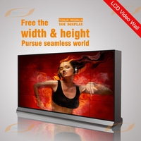 "55"" exhibition lcd multi tv wall"