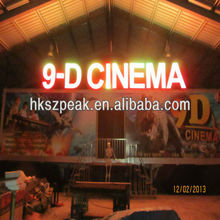 china newest 5D 7D 9D cinema