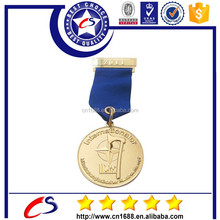 2015 Custom high quality low price race metal medal