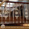 Quality Guaranteed Aluminum handrails for staircase indoor/outdoor stair railing balcony steel hand balustrades