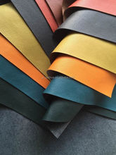 Micro cow Leather Endurance leather and cow hide leather with emboss for sofa furniture bed etc
