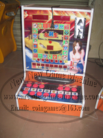 2015 The Newest Portable Small Mini Amusement Arcade Coin Operated Gamble Casino Games Machines tragamonedas