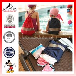 Hot Sell Waterproof Gym Bag for Kids Travel Beach Bag for Swim (ESX-LB087)