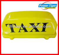 car accessories 12v led waterroof car taxi tab top light