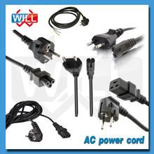 VDE CE approval 250v 125v 2.5a 10a 16a European ac power cord
