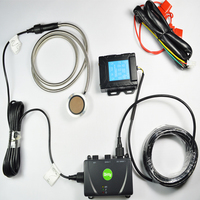 With output alarm ultrasonic real time GPS fuel consumption monitoring