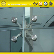 Stainless steel construction parts wall fitting glass spider