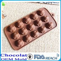 MFG Various shape silicone chocolate molds concrete sleeper moulds