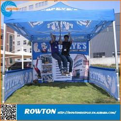 Custom printing hexagonal pop up tent easy up hardtop gazebo