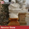 Hand Carve Stone Angel Water Fountain